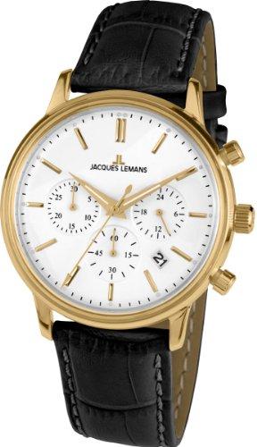 Jacques Lemans Nostalgie Mens Chronograph Classic & Simple