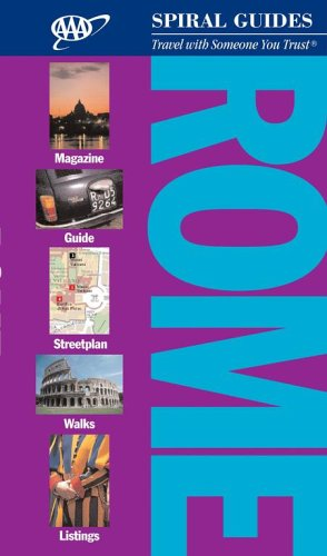 AAA Spiral Guide: Rome (Aaa Spiral Guides) -