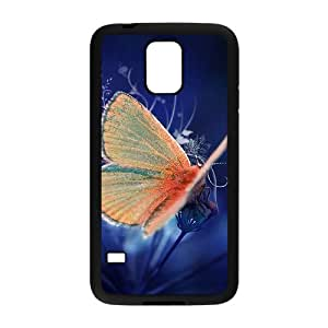 DIY Hard Snap-on Backcover Case for SamSung Galaxy S5 I9600 - Beautiful Butterfly CM05L4447