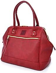 Anello PU Leather Boston Shoulder Bag Handbag