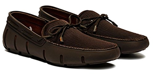 Mens 8 Loafer Brown Lace Size SWIMS YzwpxY