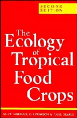 Book Ecology of Tropical Food Crops 2ed