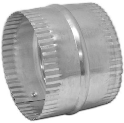 Lambro 246 Galvanized Duct Connector for Flexible Aluminum Duct, 6