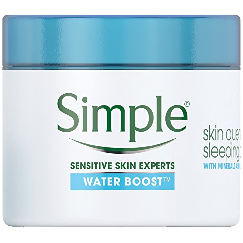 Simple Water Boost Skin Quench, Sleeping Cream, 1.7 Ounce