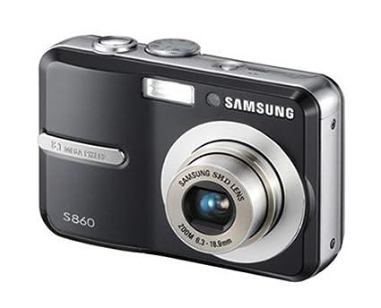 amazon com samsung s860 8 1mp digital camera with 3x optical zoom rh amazon com Samsung S860 Camera Driver Samsung S860 Camera Driver