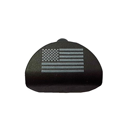 Fixxxer Gen 1-3 Grip Plug fits Medium & Large Frame fits Glock 17 19 20 21 22 23 24 25 31 32 34 35 (American Flag)