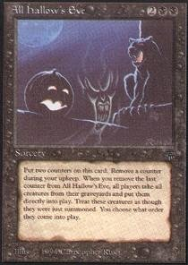 Magic: the Gathering - All Hallow's Eve - Legends