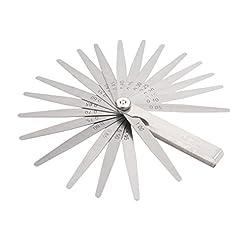 20 Blades Feeler Gauge Metric Imperial M...