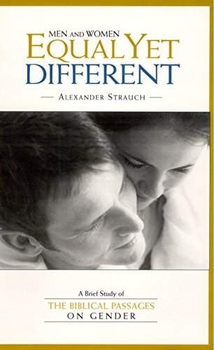 Men and Women: Equal Yet Different (Men With Men And Women With Women)