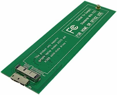 Pxyelec® SSD a USB 3.0 Carcasa de Disco Duro Externo 6 + 12 Pines ...