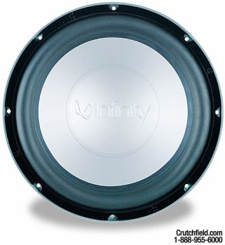 Infinity Kappa Perfect 12.1D - Car subwoofer driver - 350 Watt - 12""