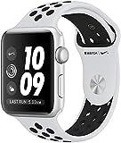 Apple Series 3 Nike + GPS + Cellular Black/White Strap Smart Watch - MQME2AE/A, iOSMQME2AE/A