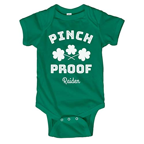 Baby Raiden St. Pat's Pinch Proof: Infant Bodysuit