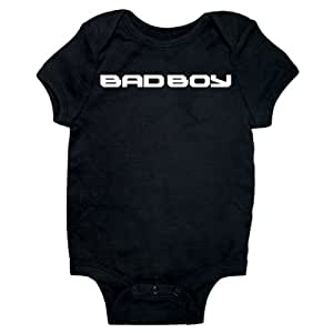 Bad Boy Baby Onesie (Black, 6 months)