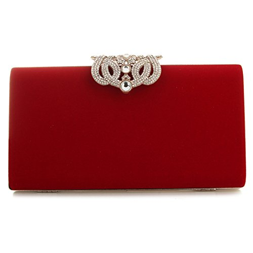 pour femme Pochette Evening Bag SSMK red nwqaWzgxAY