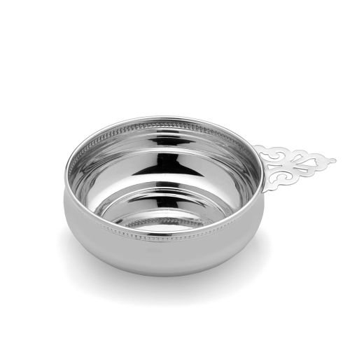 Empire Beaded Sterling Porringer by EMPIRE