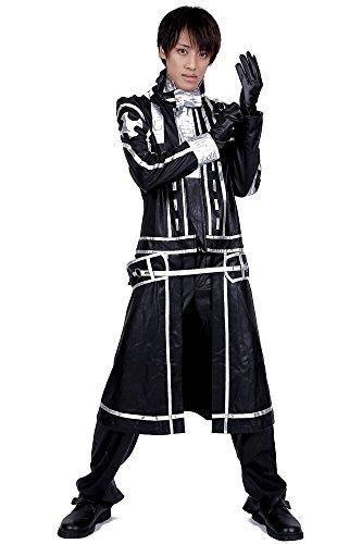 [ICEMPs D.Gray-Man Cosplay Allen Walker Leatherette Exorcist uniform V2 Set] (Exorcist Halloween Costume Uk)