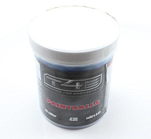 T4E 43 Cal Paintballs 430 CT - Blue by T4E