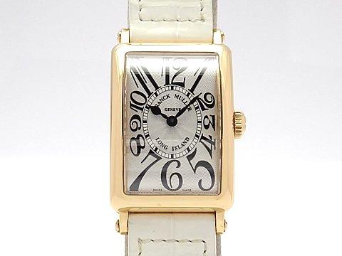 (フランク ミュラー)FRANCK MULLER 腕時計 ロングアイランド レディース時計 902QZ K18PG/革 中古 B078NNKS7X