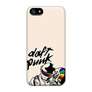 Iphone 5/5s FSR4112kfEK Customized Stylish Daft Punk Series Excellent Cell-phone Hard Cover -AlainTanielian
