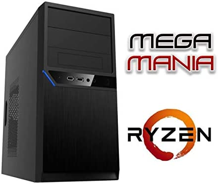 Megamania PC Ordenador SOBREMESA AMD Ryzen™ 3 1200 up to 3.4Ghz ...