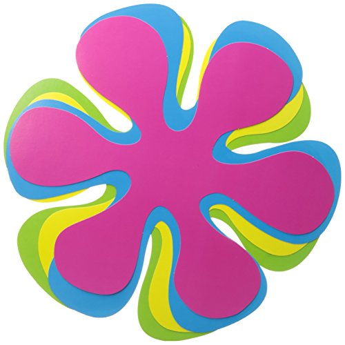 Retro Flower Cutouts   (4/Pkg) ()
