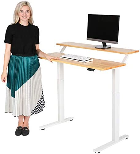 SDADI Electric Height Adjustable Standing Desk Review