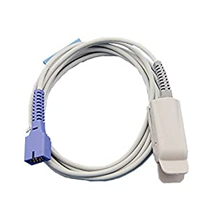Nellcor 9 Pin Oximeter Sensor Spo2 Clip Type Aduit Finger Clip Sensor (Nellcor 9 Pin)