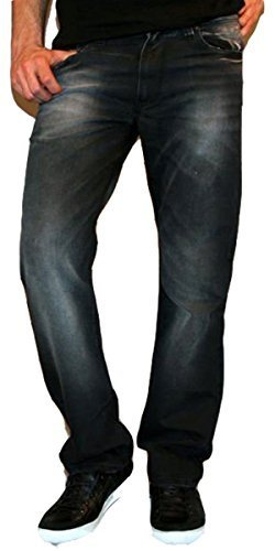 9bdd2dd00eef Newfacelook Mens Jeans Stylish Fashion Denim Jeans Pants Trousers F-0001  W36-L34