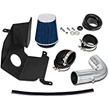 Velocity Concepts Blue Heat Shield Cold Air Intake Kit + Filter 04-05 Chevrolet Silverado GMC Sierra 2500HD/3500 6.6L V8 Duramax LLY Engine Only
