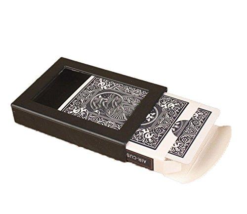 - Vanish Disappearing Vanishing Deck Card Case Close Up Magic Trick Box Magic Poker Case, Fun Poker Vanishing Cases Deck Disappearing Vanishing Magics Card Case Close Up Amazing Magic Trick Box (blue)