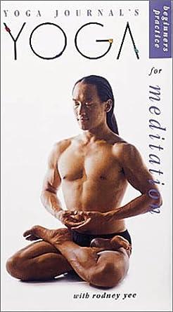 Yoga Journals Yoga Practice for Meditation USA VHS: Amazon ...