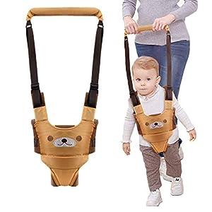 Baby Walking Assistant Harness, Handheld Toddler Walking Harness Baby Walker, Standing Up and Walking Learning Helper, 4…