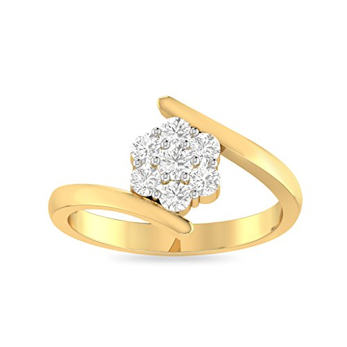 PC Jeweller The Etty 22KT Yellow Gold Rings