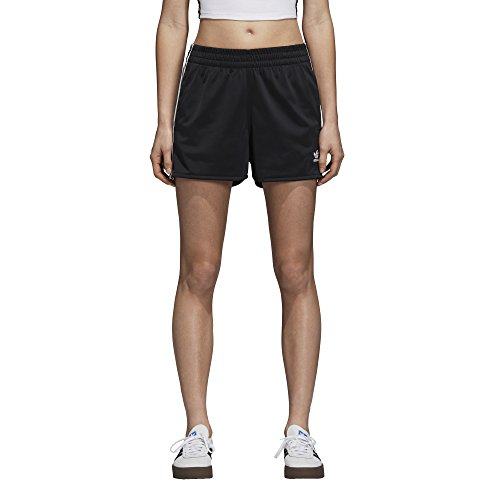 Adidas Classic Shorts - adidas Originals Women's 3-Stripes Shorts, Black, M