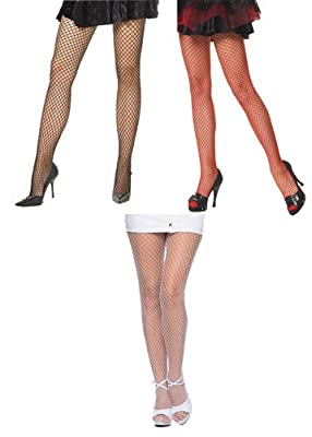 Leg Avenue Womens Spandex Industrial Fishnet Tights