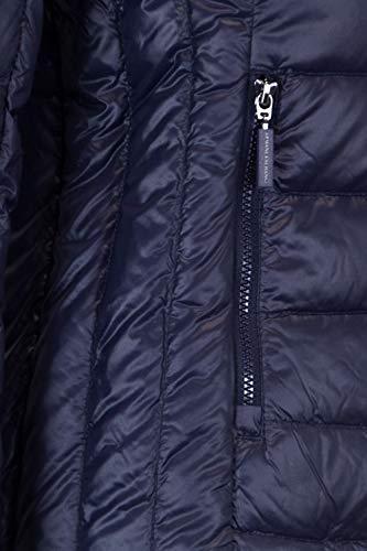 Exchange 8nyb01ynm4z1510 Doudoune Femme Bleu Armani Polyamide UOS8qSB