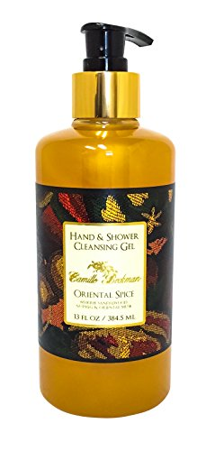 Camille Beckman Hand and Shower Cleansing Gel, Oriental Spice, 13 ()