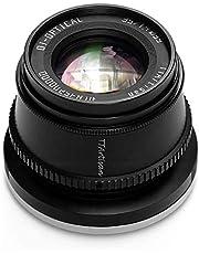 TTArtisan 35mm F1.4 APS-C Handleiding Focus Lens Compatibel met Sony E Mount Camera Zoals A9 A7R IV A7R III A7R II A7S II A7III A7II A5000 A5100 A6000 A6100 A6300 A6400 A6500 A6000 NEE X-3 NEX-5 MEX-6 NEX-7