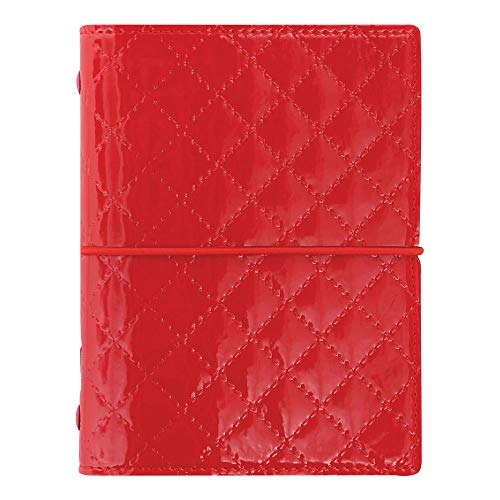 Domino Pocket Organizer - Filofax 2019 Pocket Organizer, Domino Luxe Red, 4.75 x 3.25 inches (C027991-19)