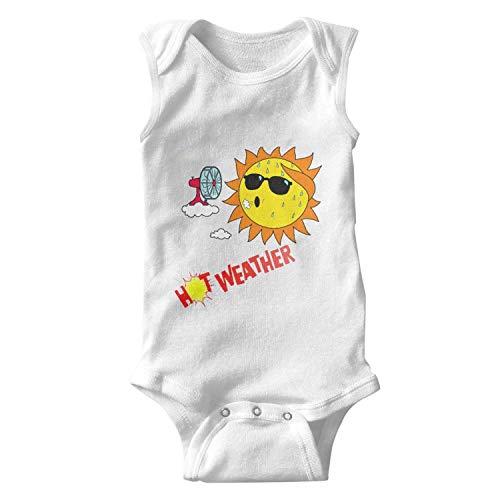 fygu zeret Newborn Baby boy hot Weather Sleeveless Funny Romper