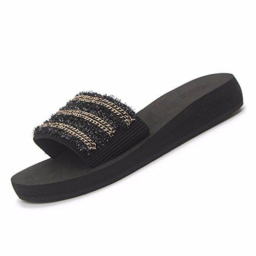 Ciabatte spesso YMFIE YMFIE YMFIE Donna calzature piscina scarpe fondo Summer   8c7725