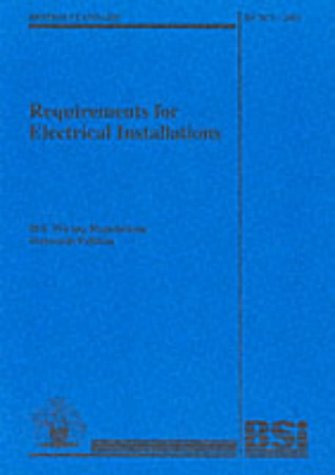BS 7671 2001 Requirements for Electrical Installations (British Standard) Amazon.co.uk Institution of Electrical Engineers 9780852969885 Books  sc 1 st  Amazon UK : bs7671 wiring regulations pdf - yogabreezes.com