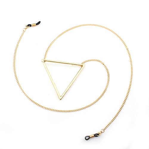 Handmade Eyeglass Holder, Eyeglass Chain, Eyeglass Lanyard (Various Styles) (Gold)