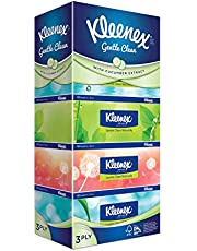 Kleenex Ultra Soft Facial Tissue, 3 PLY, Natural, 100ct ,(Pack of 5)