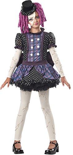 Broken Doll Child Costume - Large