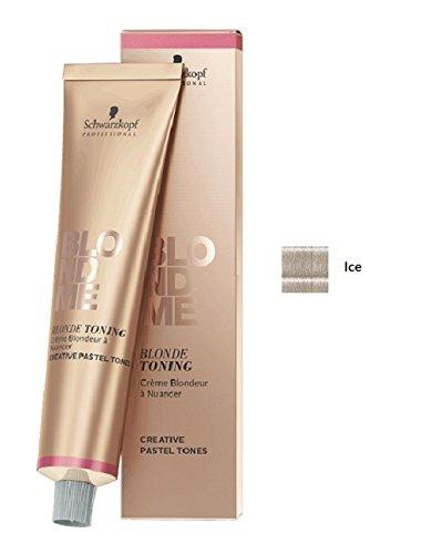 Schwarzkopf Professional Blondme Blonde Toning Tone Ice Hair Treatment - 60 ml