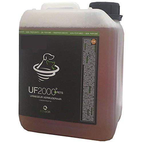 ECODOR - Uringeruch Entferner - UF 2000 1x 2,5l 5-fach-Konzentrat. Zur Geruchsneutralisierung die bei Haustieren entstehen.