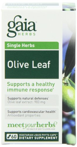 Gaia Herbs Olive Leaf, 60 Liquid Phyto-Capsules, Health Care Stuffs