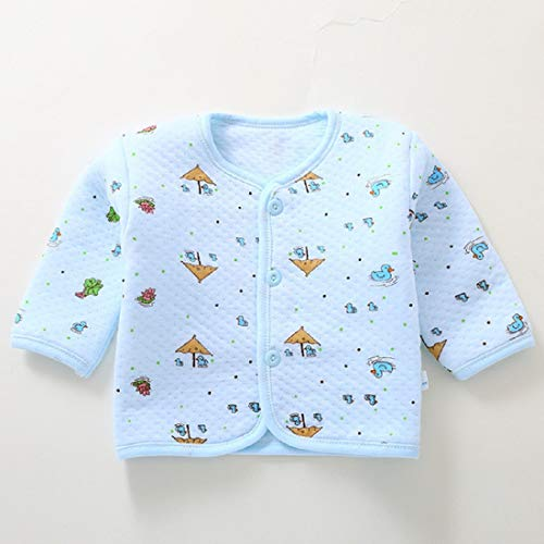 Gilli Shopee Newborn Baby Soft Feel Cotton Polyester Blend Top Pyjama with Cap and Bib for Winter (0-3 Months)